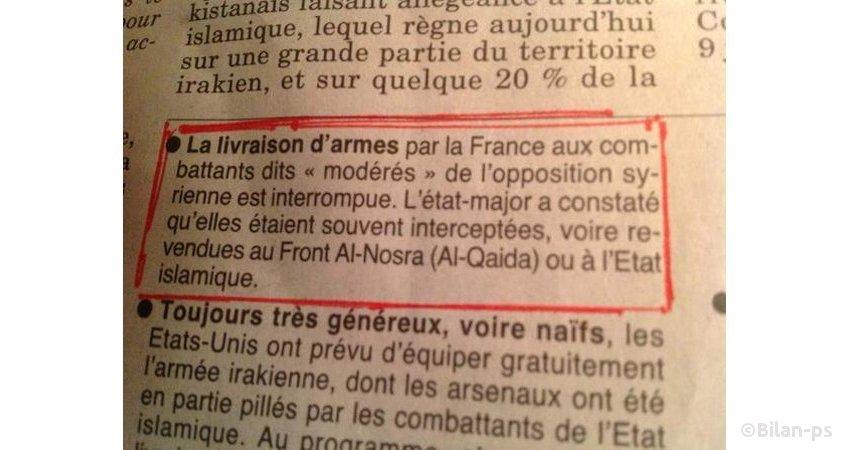 Article du Canard Enchaîné - 21.01.15