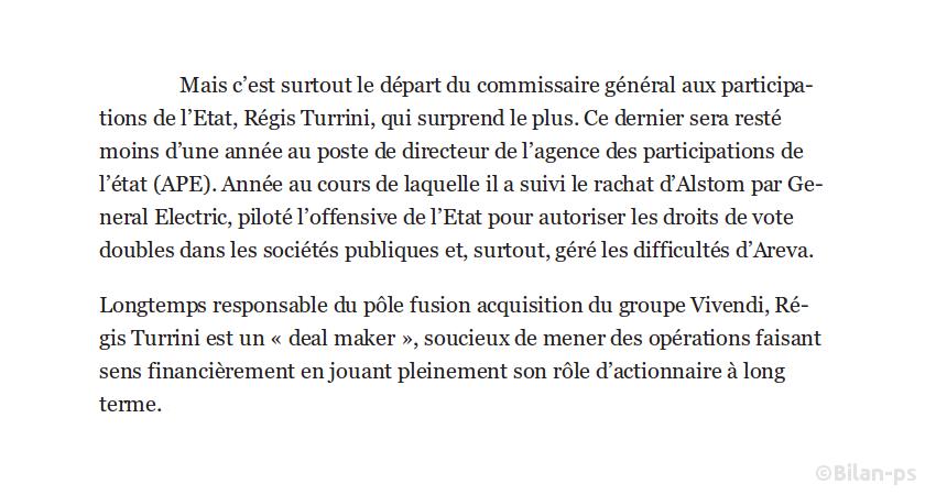 Régis Turrini (juste passé pour brader Alstom) rejoint Altice