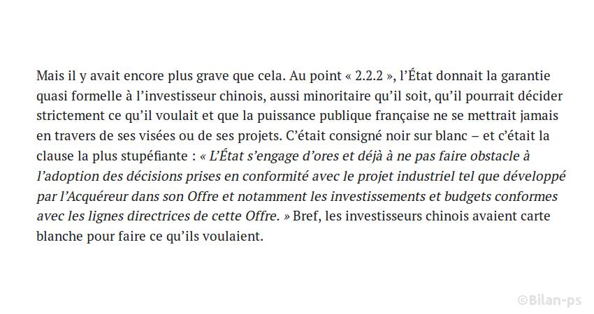 Toulouse : l'État soutiendra les demandes des actionnaires chinois