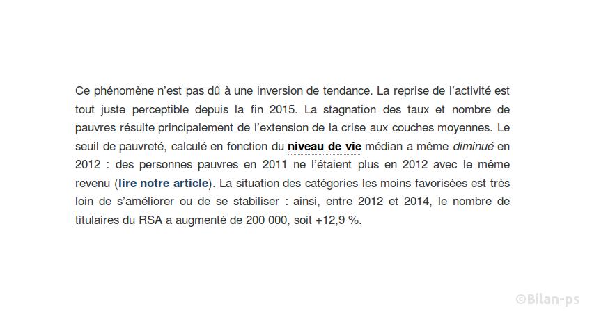 2012 - 2014 : + 200 000  titulaires du RSA (+12,9%)