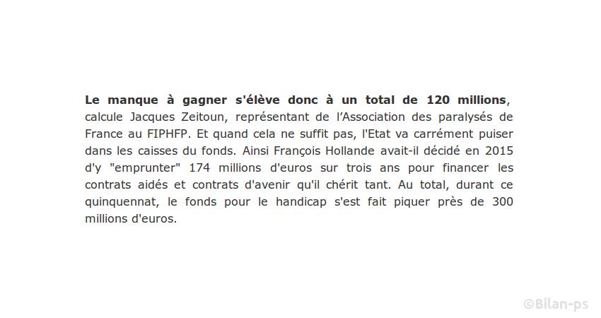 174 M€ pour financer les contrats d'avenir