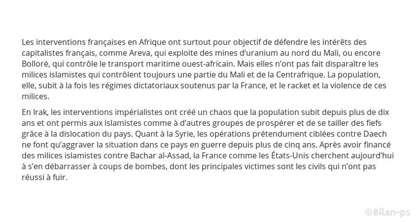 Guerres en Centrafrique, en Irak, en Syrie