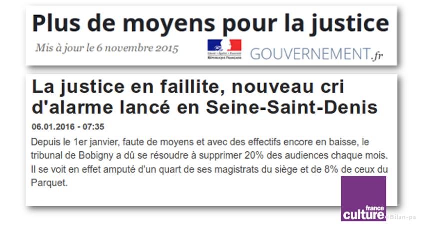 Justice en faillite : cri d'alarme en Seine-Saint-Denis
