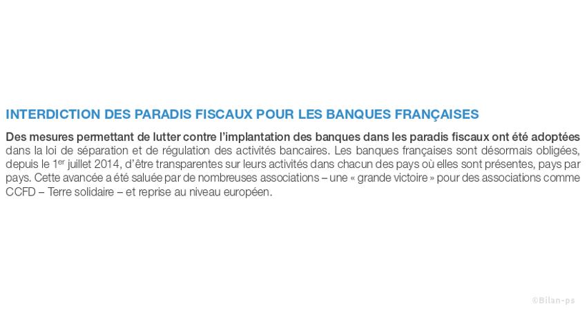 paradis fiscaux pour les banques françaises, autorisés