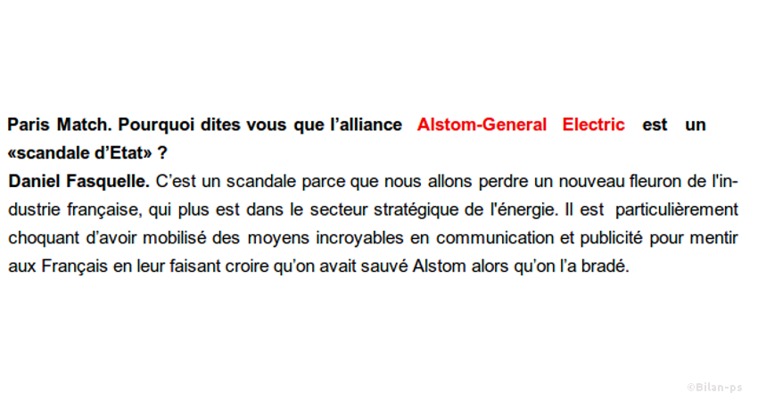 Démantèlement d'Alstom : le gouvernement cède au lobbying de General Electric