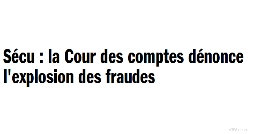Fraude aux cotisations sociales (25Mds/an)