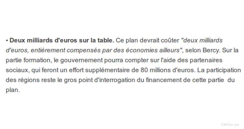 2 milliards d'euros d'austérité supplémentaire